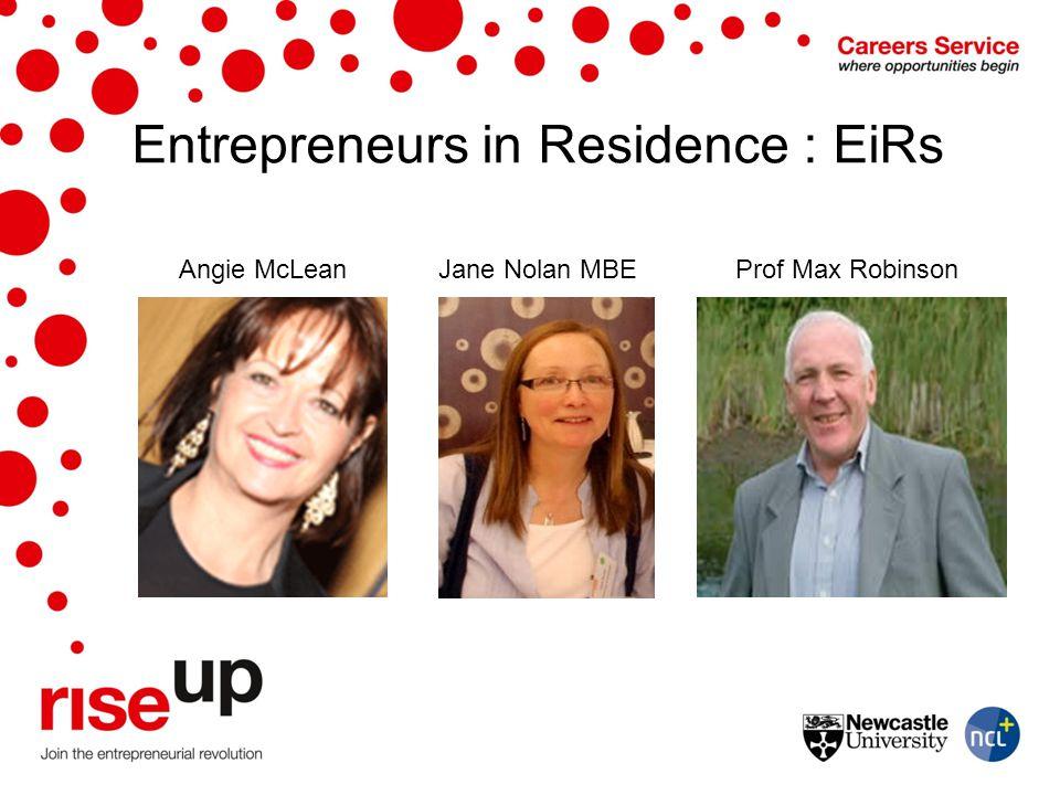 Entrepreneurs in Residence : EiRs