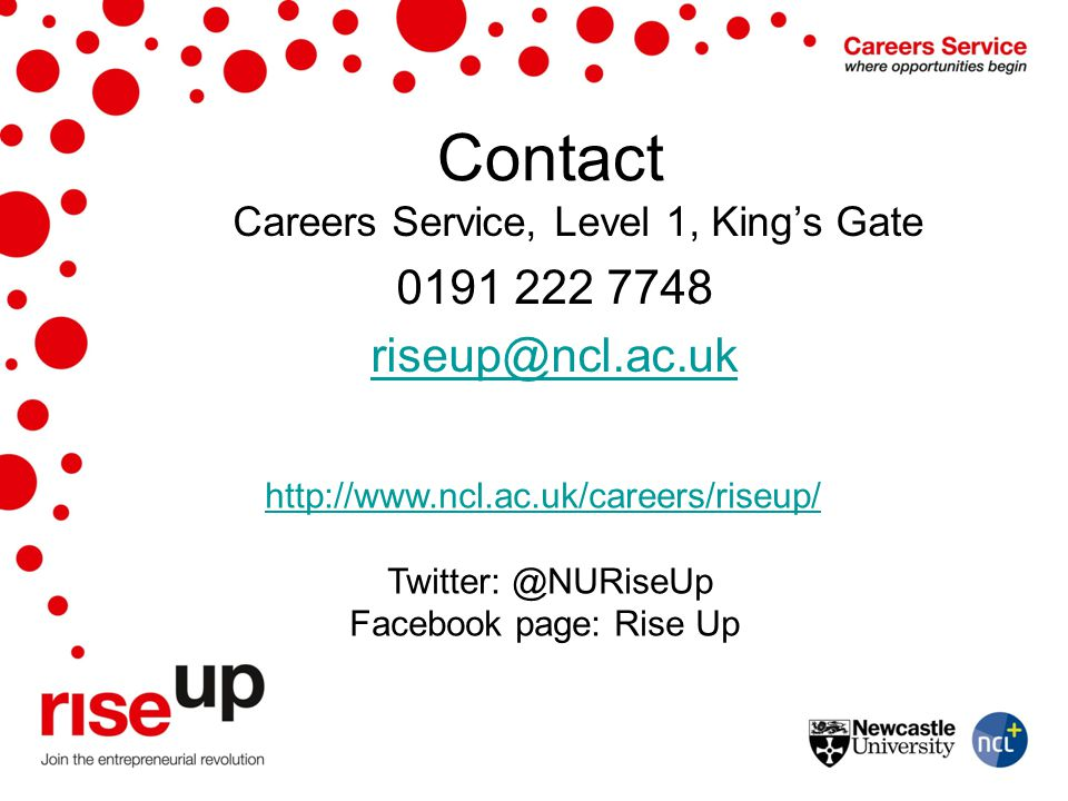 Careers Service, Level 1, King's Gate