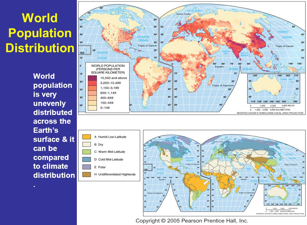 World Population Distribution