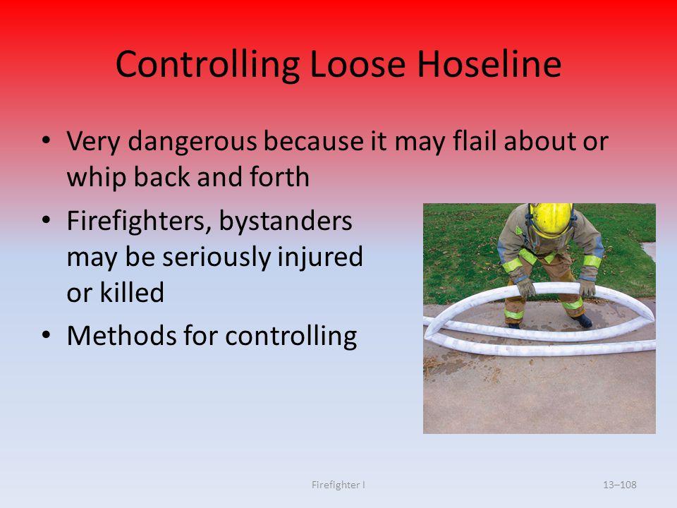 Controlling Loose Hoseline