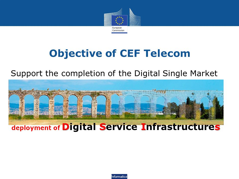 Objective of CEF Telecom