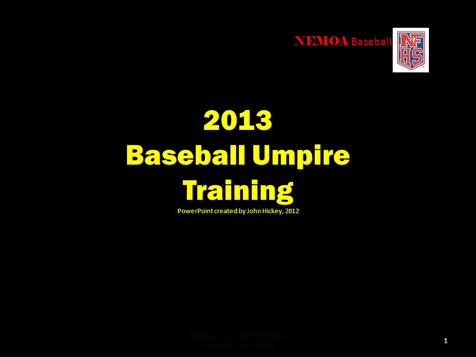Baseball Umpire Training