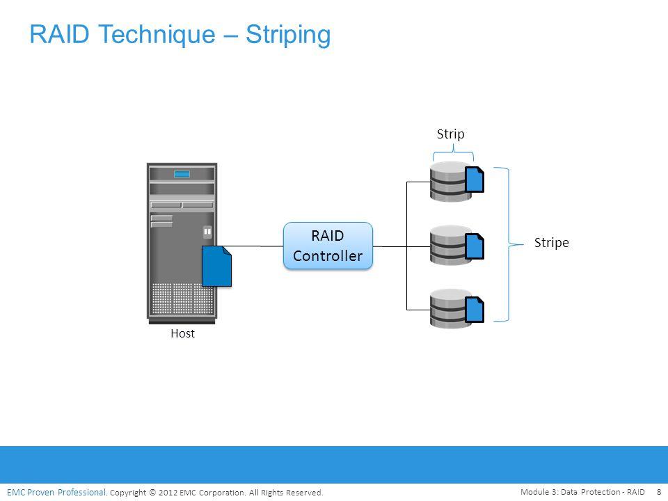 RAID Technique – Striping