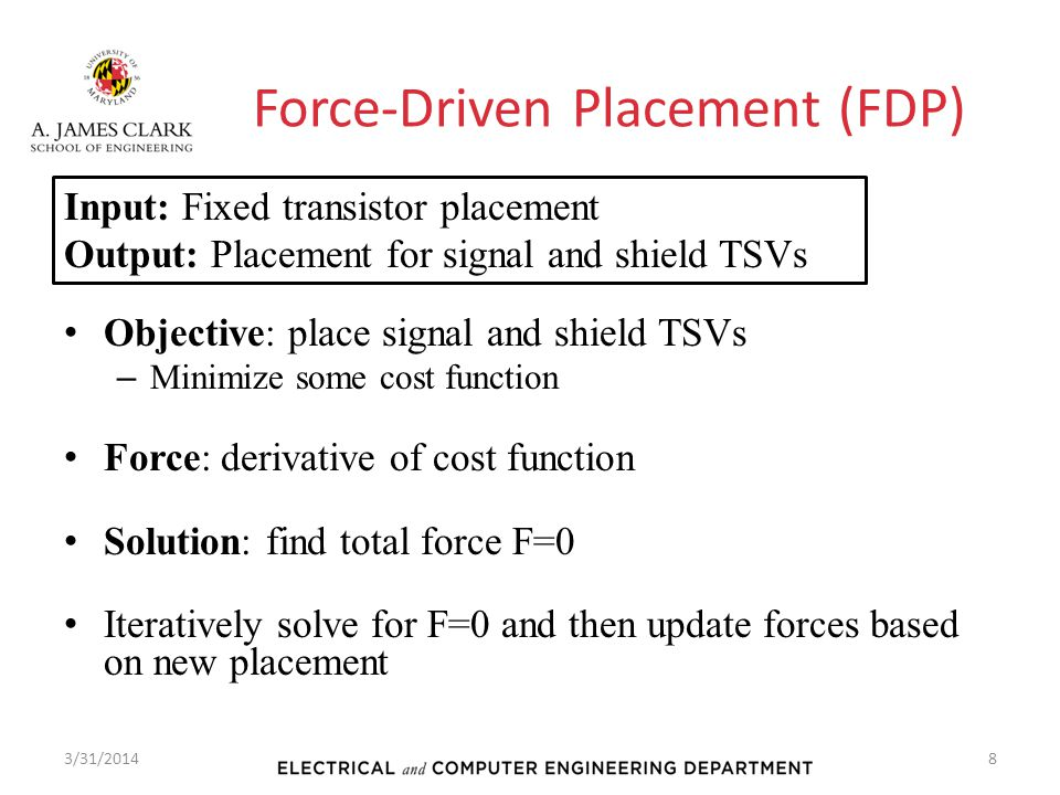 Force-Driven Placement (FDP)