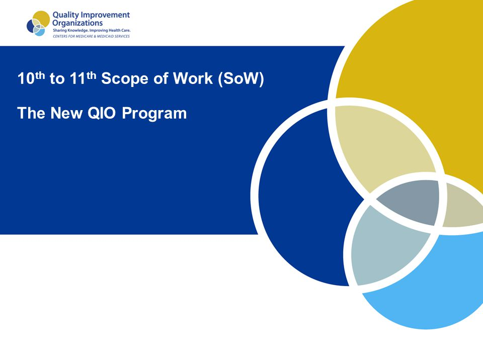 10th to 11th Scope of Work (SoW)