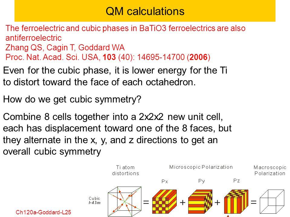 QM calculations
