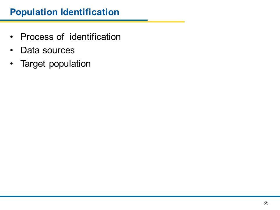 Population Identification