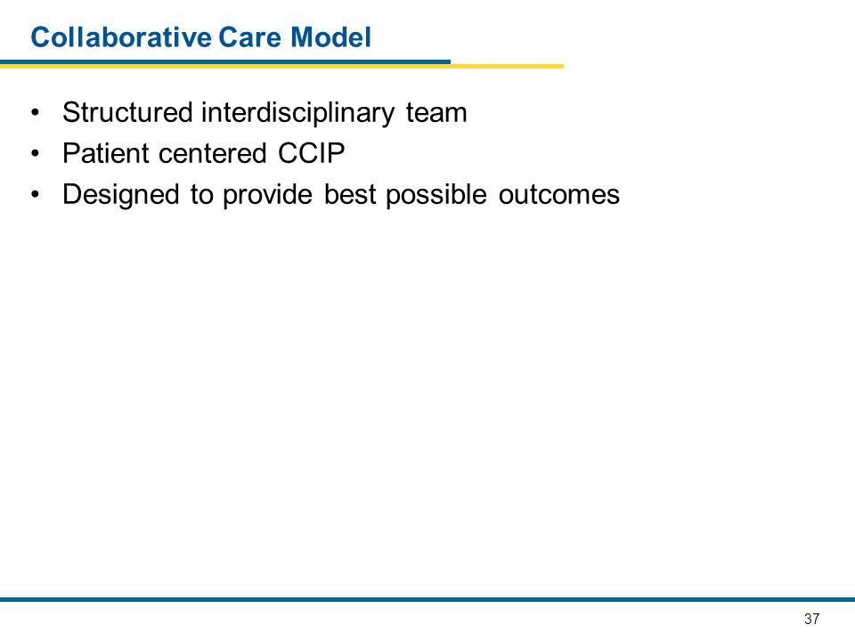Collaborative Care Model