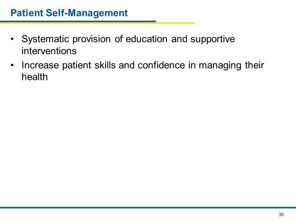 Patient Self-Management