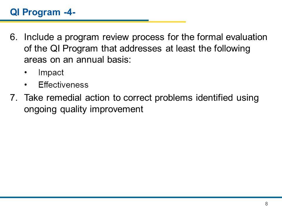 QI Program -4-