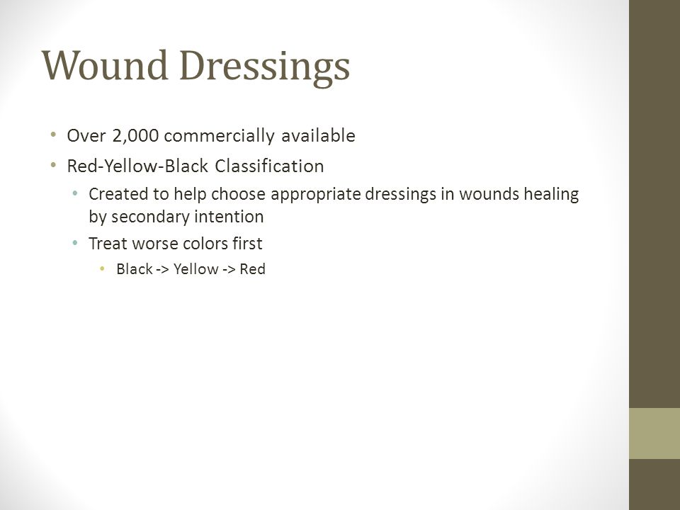 Wound Dressings Over 2,000 commercially available
