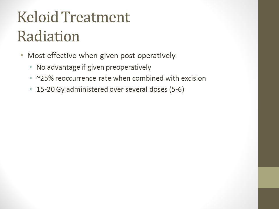 Keloid Treatment Radiation