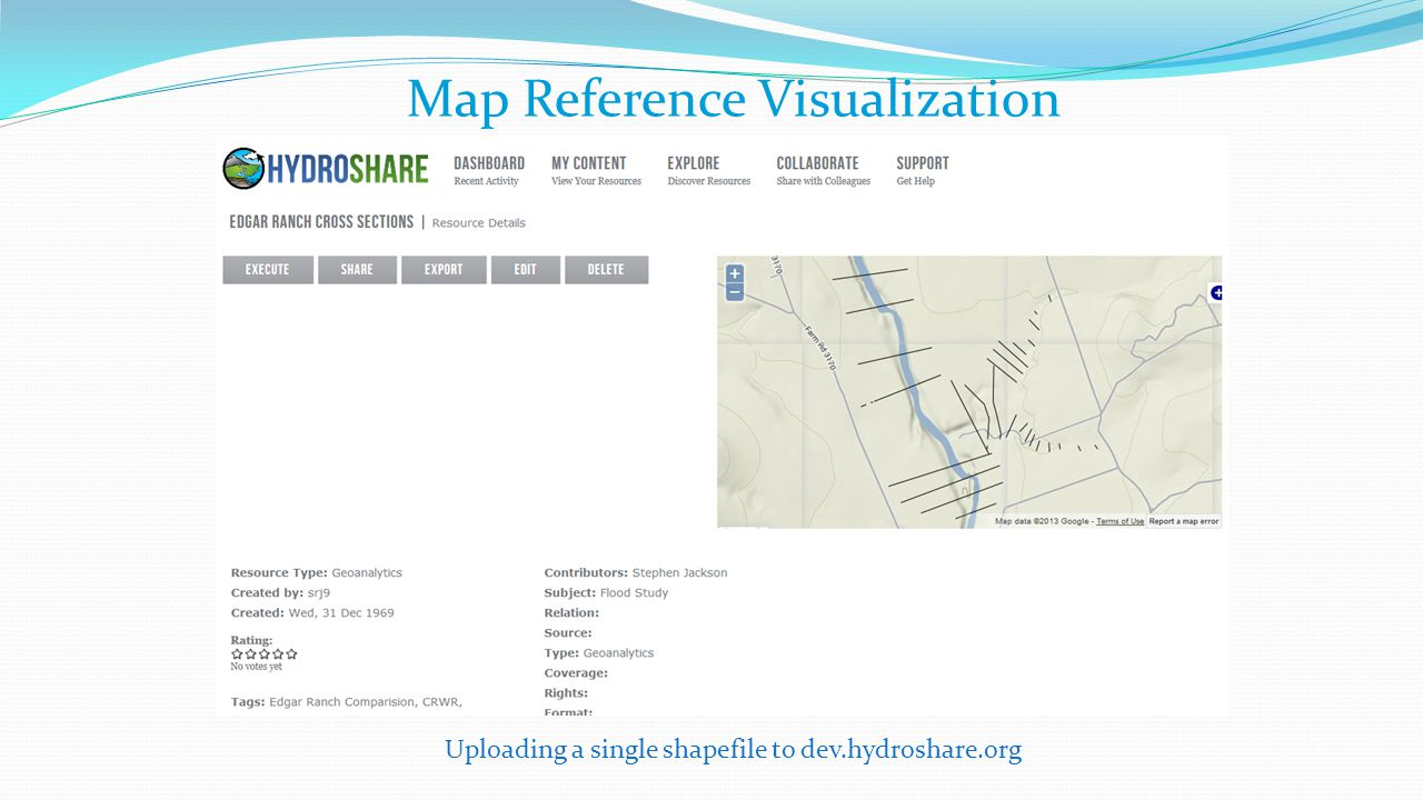 Map Reference Visualization