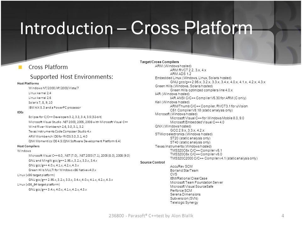 236800 - Parasoft® C++test by Alon Bialik