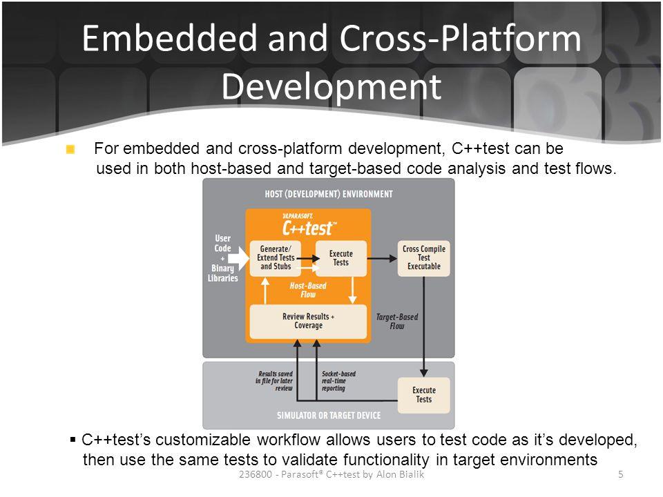 Embedded and Cross-Platform Development