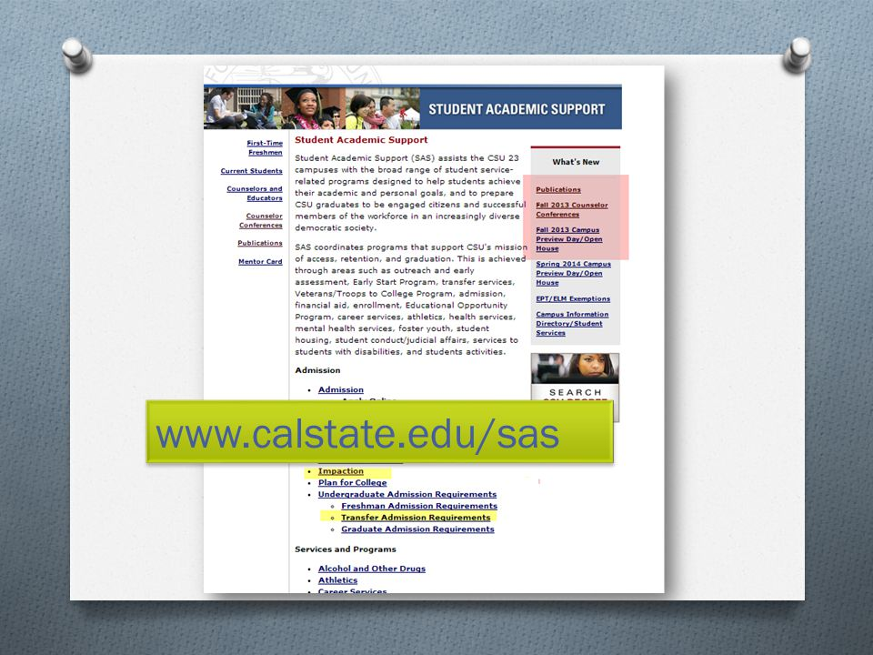 www.calstate.edu/sas