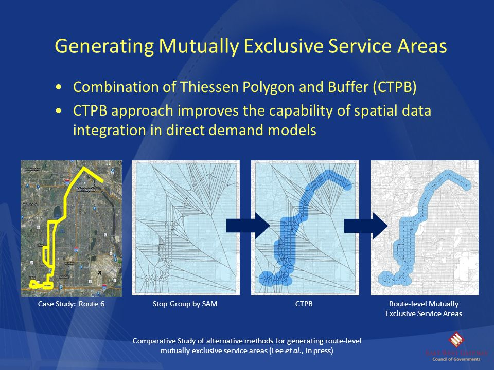 Route-level Mutually Exclusive Service Areas