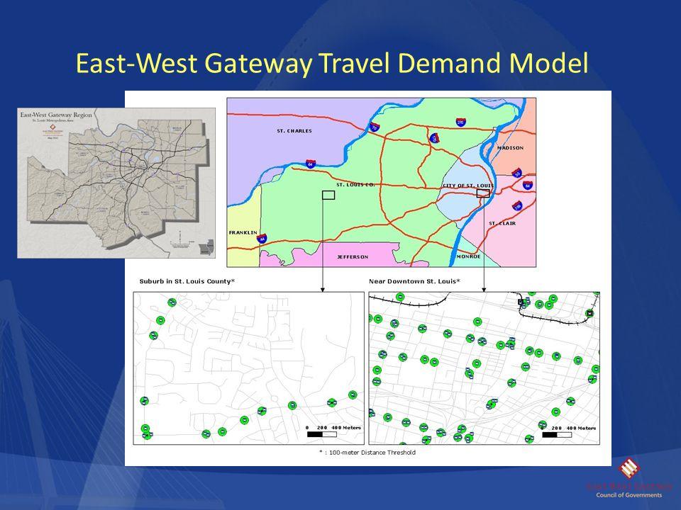 East-West Gateway Travel Demand Model