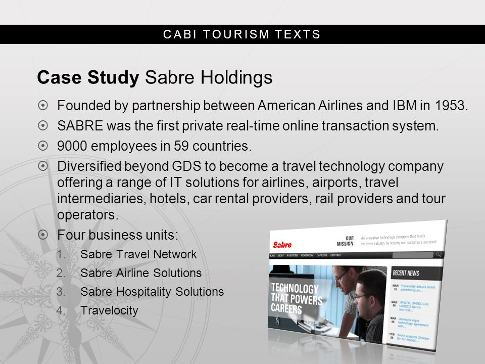 Case Study Sabre Holdings