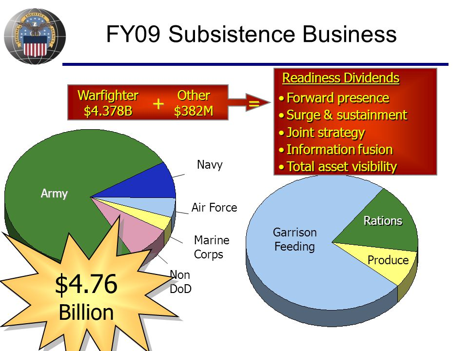 FY09 Subsistence Business