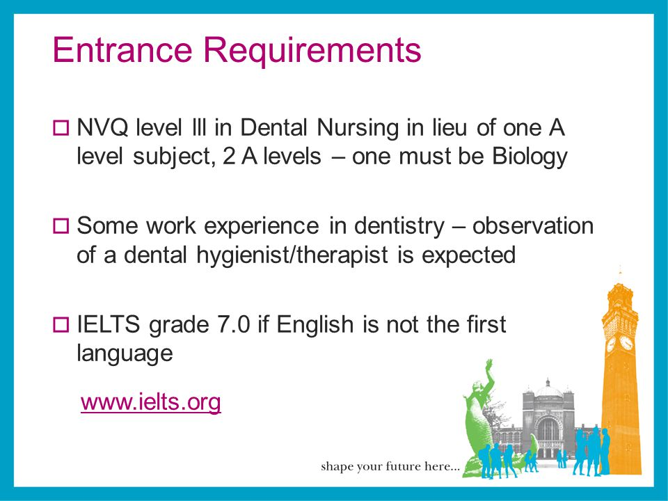 Entrance Requirements