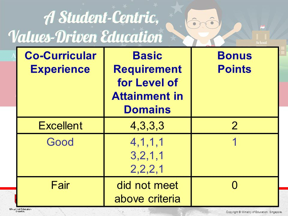 Co-Curricular Experience