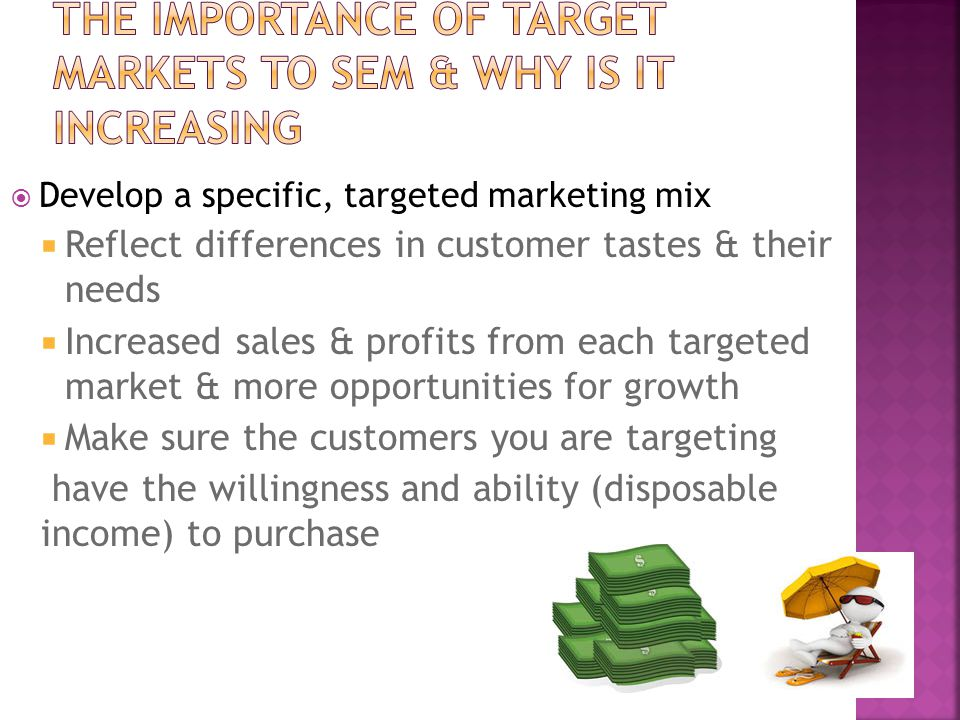 The importance of target markets to SEM & why is it increasing