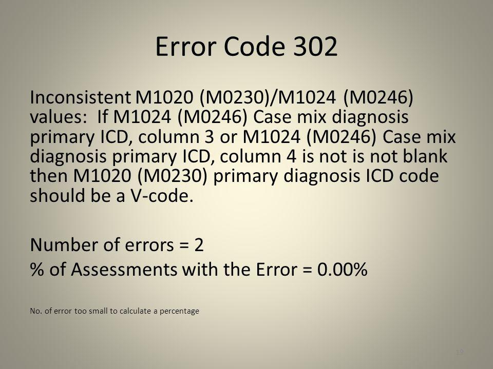 Error Code 302