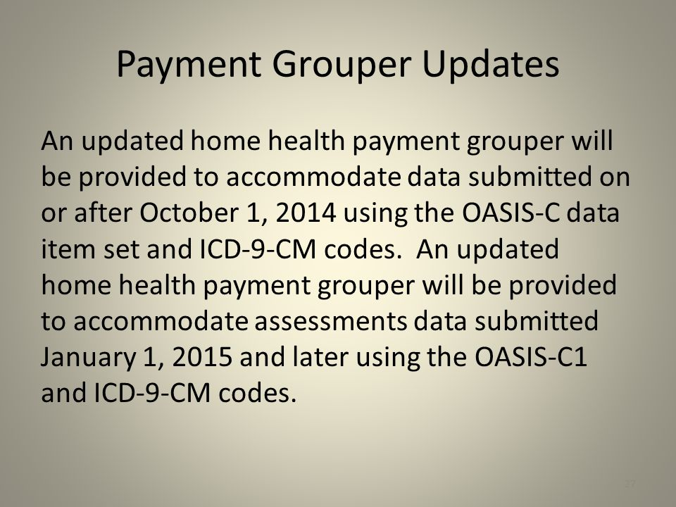 Payment Grouper Updates