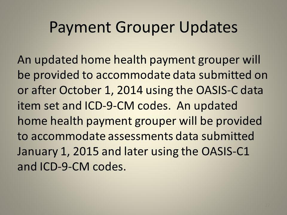 Payment Grouper Updates