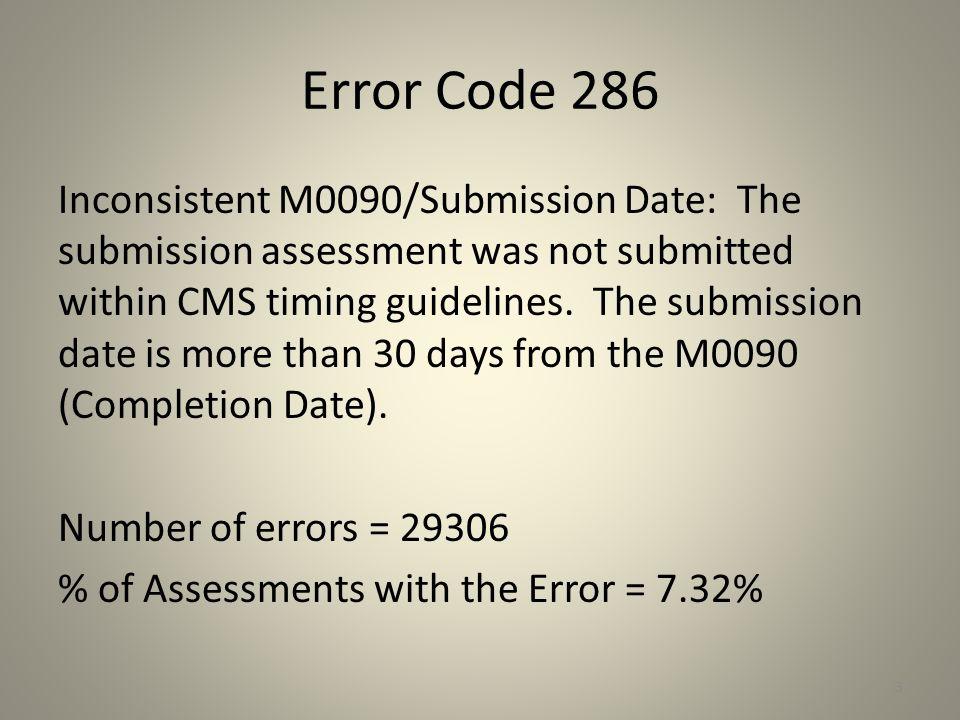 Error Code 286