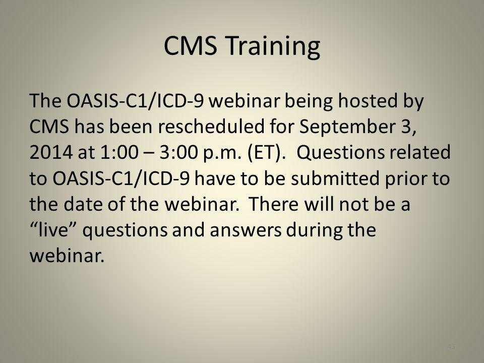 CMS Training