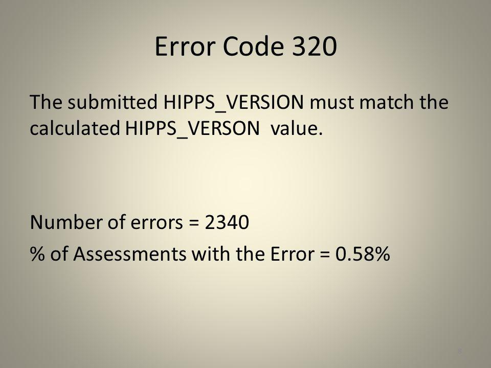 Error Code 320