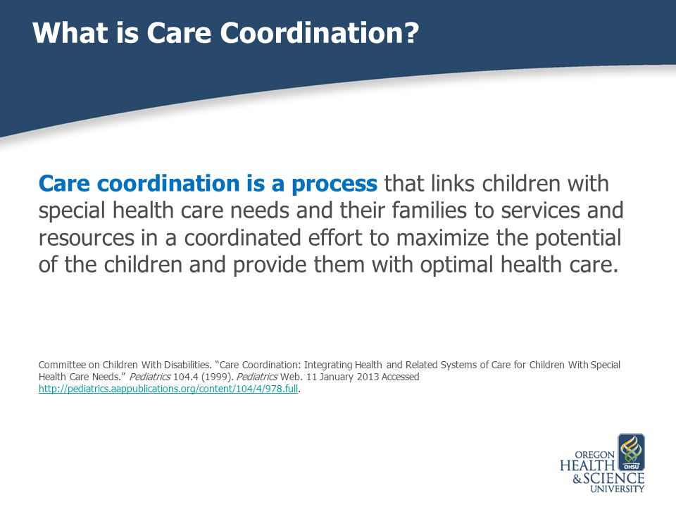 What is Care Coordination