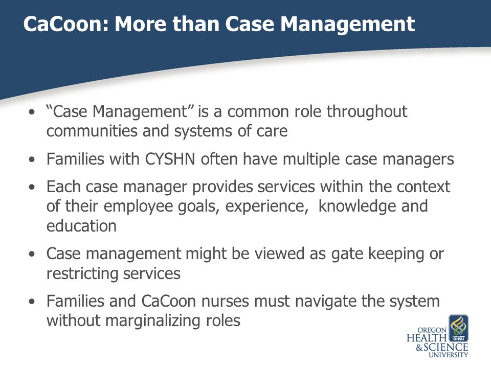 CaCoon: More than Case Management