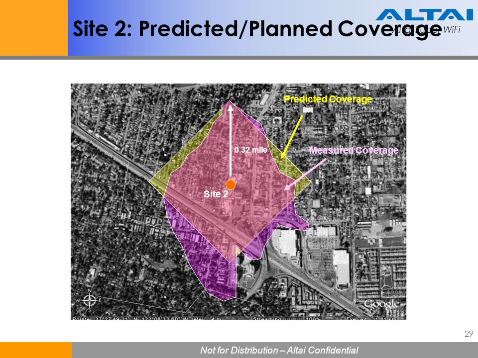 Site 2: Predicted/Planned Coverage