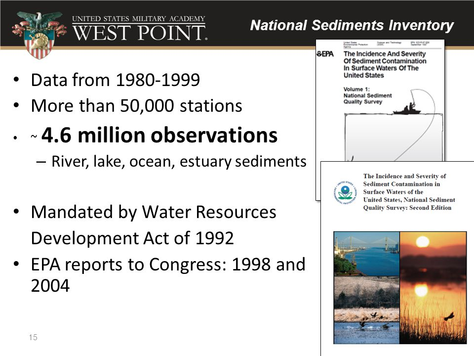 National Sediments Inventory