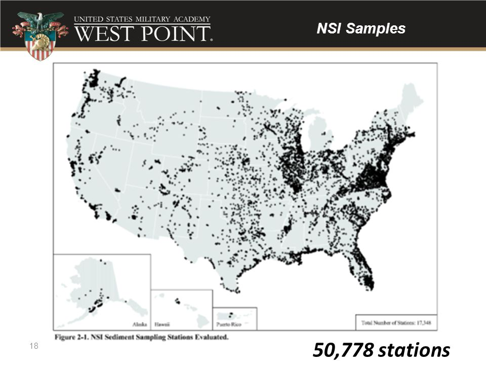 50,778 stations NSI Samples 50,778 stations