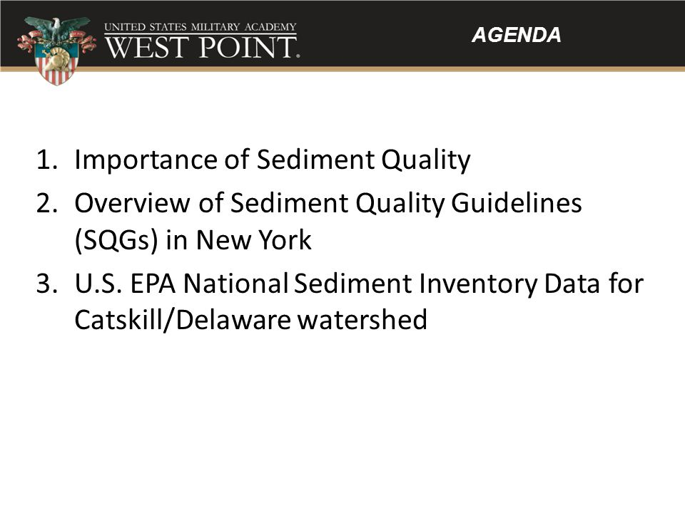 Importance of Sediment Quality