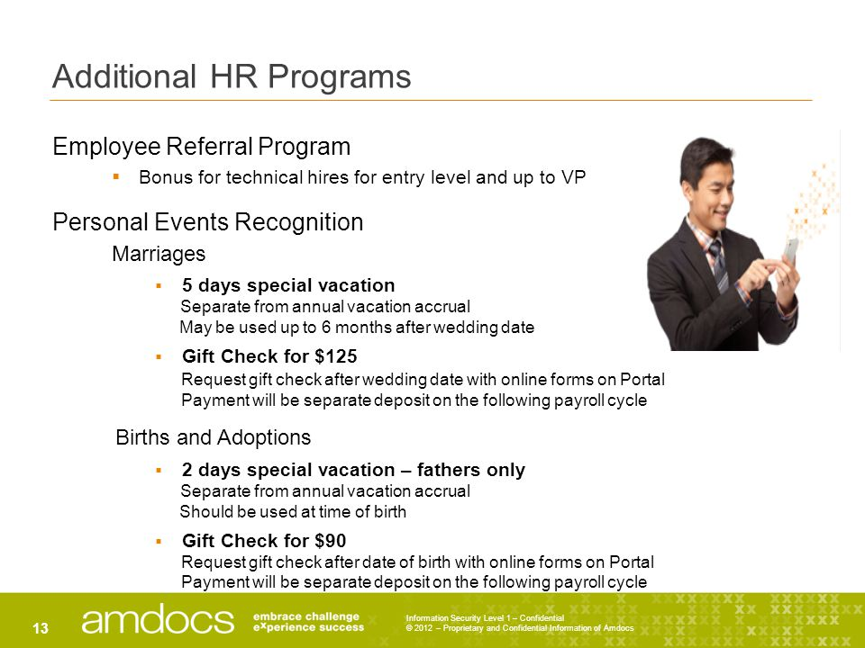 Additional HR Programs
