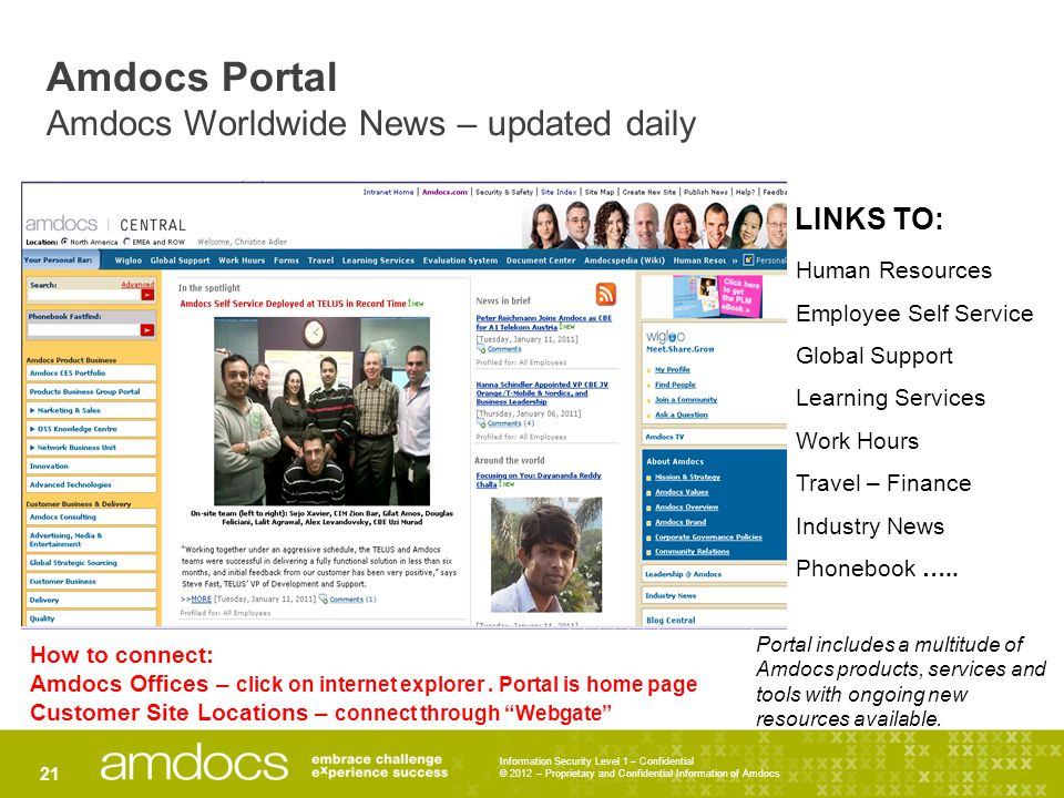 Amdocs Portal Amdocs Worldwide News – updated daily