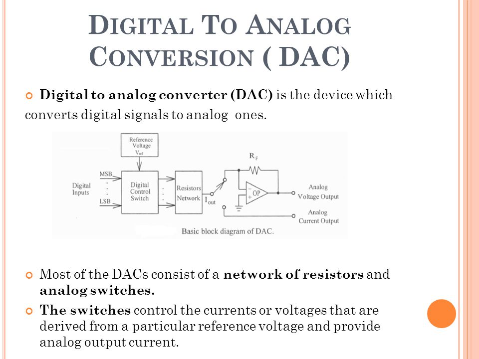 Analog To Digital Conversion (adc) Ppt Video Online Download PLL Frequency Converter DVI-D To HD Converter On 14 Digital To Analog Conversion