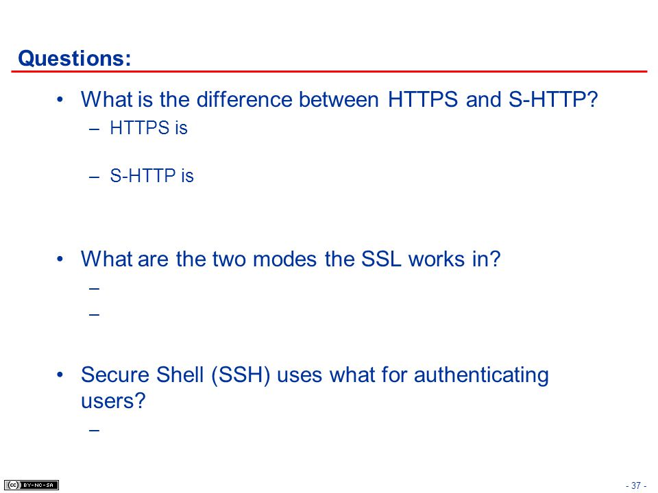 What is the difference between HTTPS and S-HTTP