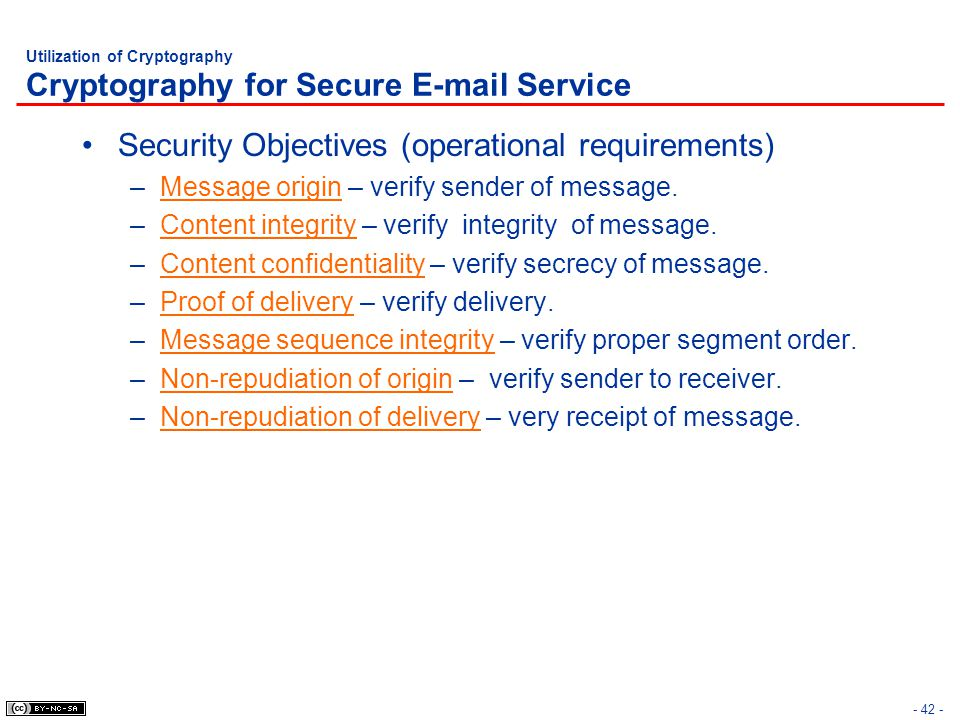Utilization of Cryptography Cryptography for Secure  Service