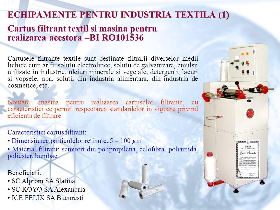 ECHIPAMENTE PENTRU INDUSTRIA TEXTILA (1)