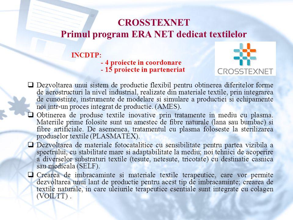 Primul program ERA NET dedicat textilelor