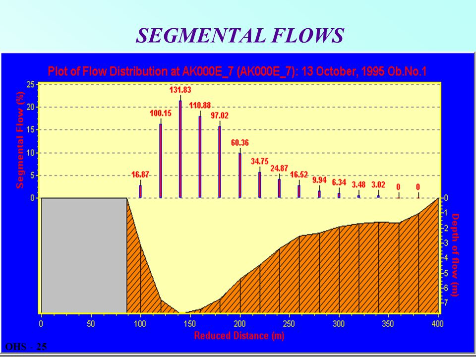 SEGMENTAL FLOWS OHS - 25
