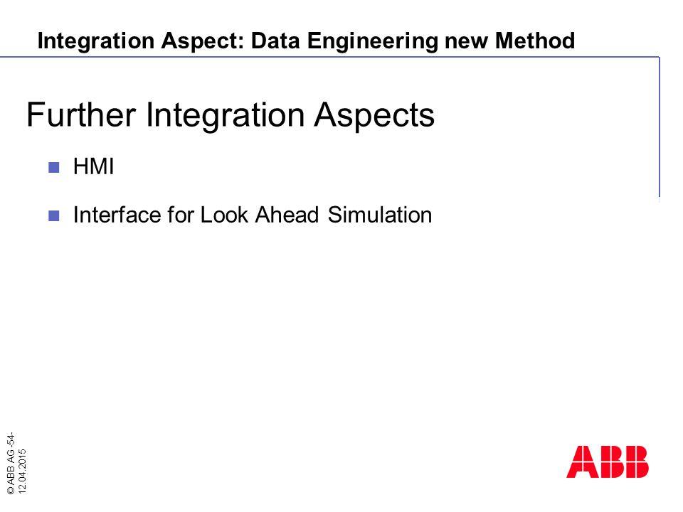 Integration Aspect: Data Engineering new Method