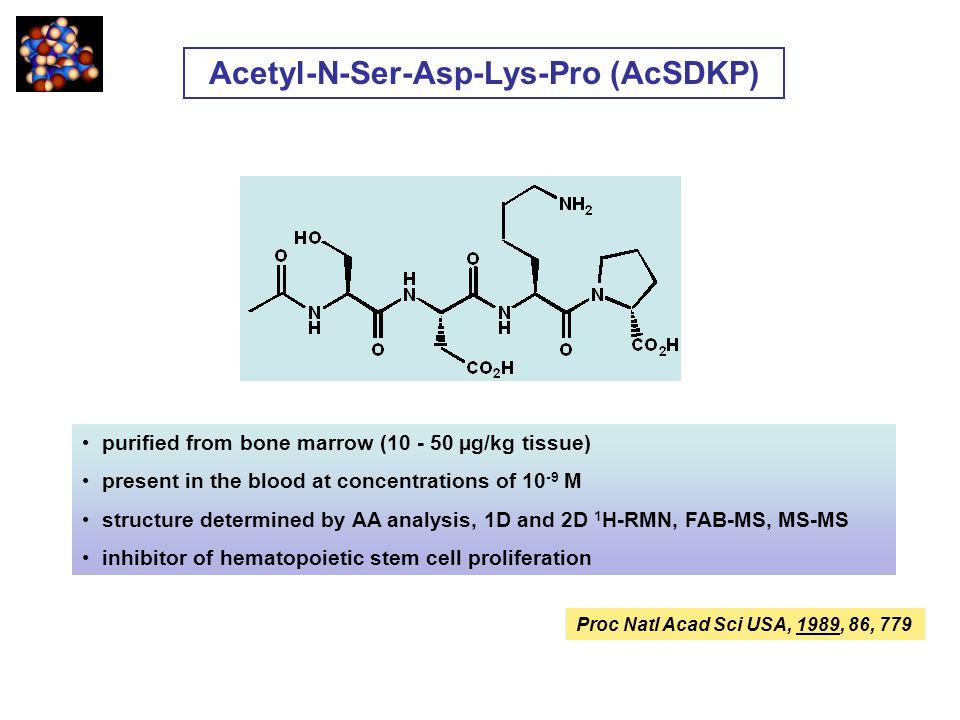 Acetyl-N-Ser-Asp-Lys-Pro (AcSDKP)