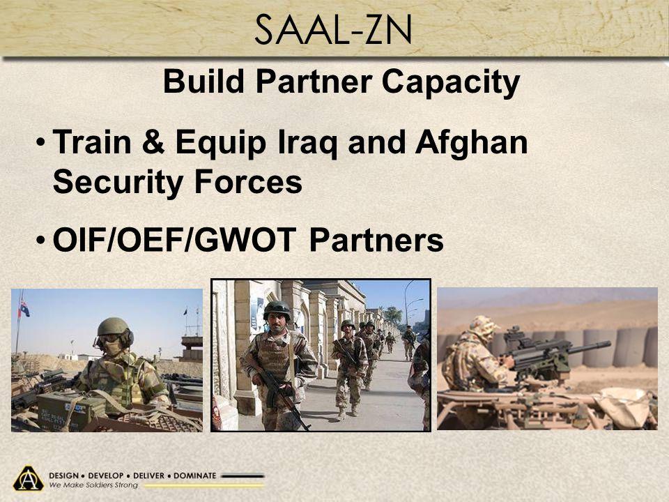 Build Partner Capacity